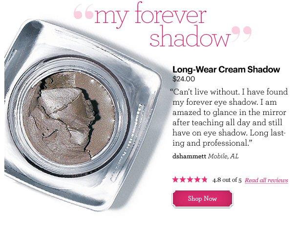 Long-Wear Cream Shadow