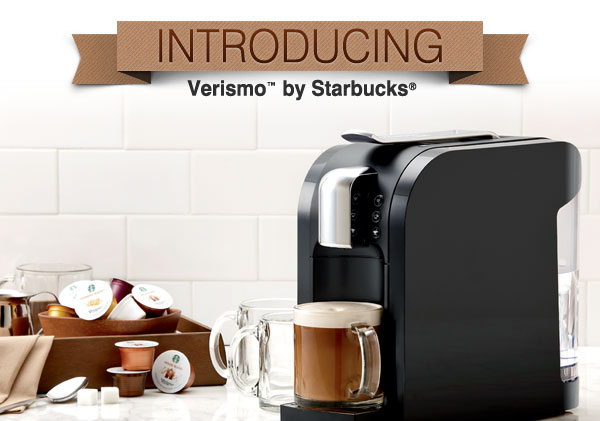 Introducing Verismo™ by Starbucks®