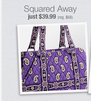 Squared Away just $39.99