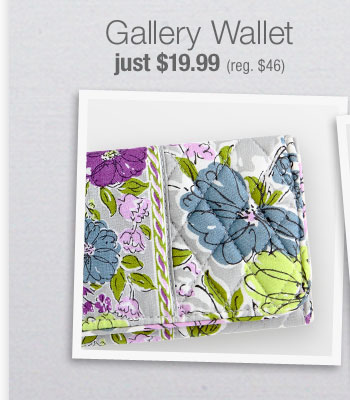 Gallery Wallet just $19.99