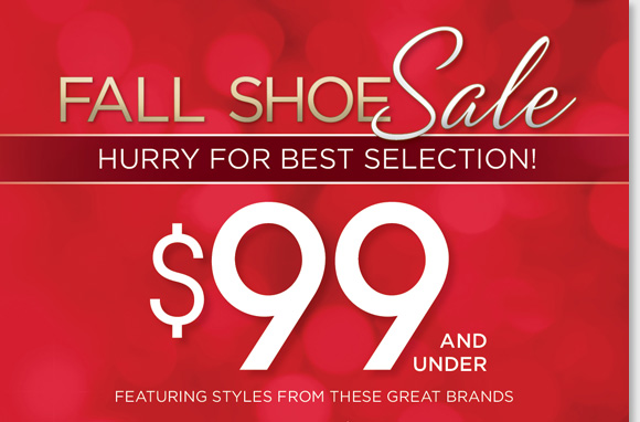 Stay comfortable this fall and save on your favorite brands during our Fall Shoe Sale! Find great styles for women and men from Dansko, Umberto Raffini, Sierra West, Thad Stuart and more for $99 and under! Hurry for the best selection and shop now at The Walking Company.