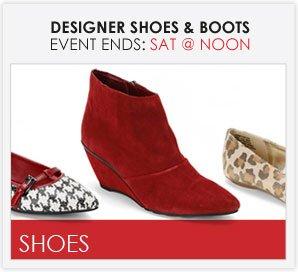 DESIGNER SHOES & BOOTS - Women's