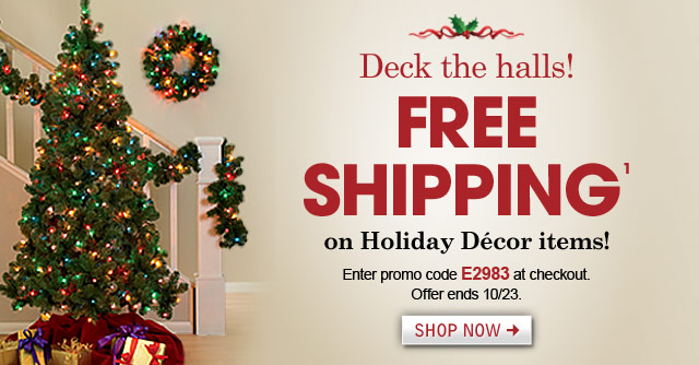 Fingerhut: Fingerhut: Free Shipping on Holiday Décor - Get ready ...