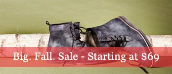 Big. Fall. Sale. Men's Boots