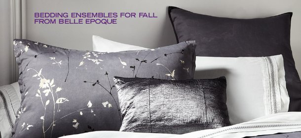 BEDDING ENSEMBLES FOR FALL FROM BELLE EPOQUE