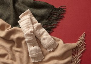 GET COZY: WRAPS & SCARVES FROM CAROLINA AMATO