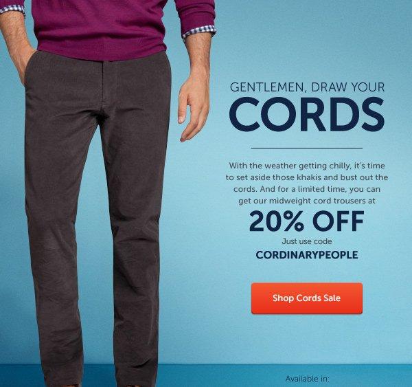 Cords Sale