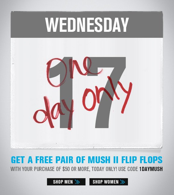 Wednesday One Day Only