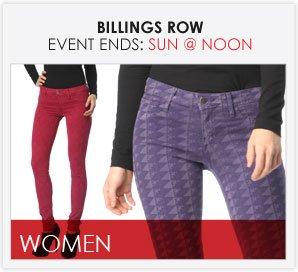 BILLINGS ROW - Women's