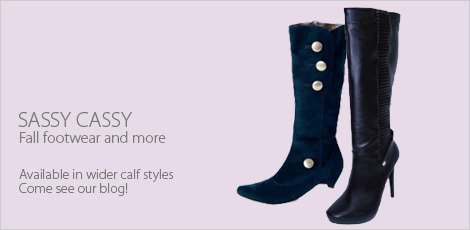 Sassy Cassy's Fall Footwear & More