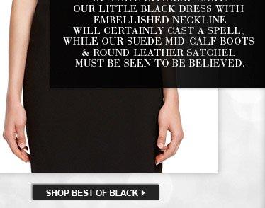 SHOP BEST OF BLACK