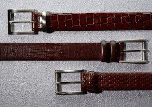 The Basics: Leather Belts
