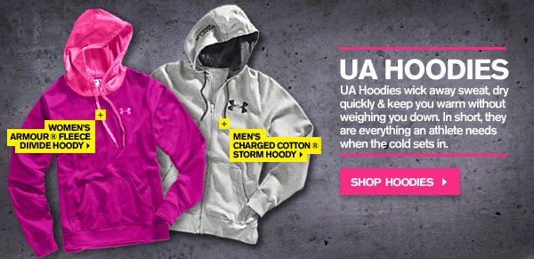 UA HOODIES. SHOP NOW.