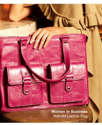 Shop Women In Business | Nairobi Laptop Bag