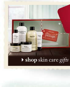 shop skin care gifts