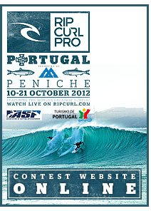 Rip Curl Pro Portugal - 10-21 October 2012, Contest Website Online