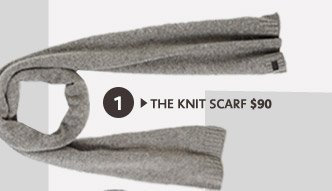 THE KNIT SCARF
