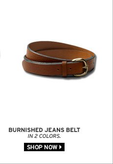 Burnished Jeans Belt