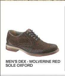 Men's Dex - Wolverine Red Sole Oxford