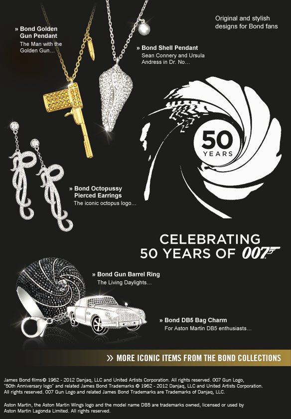 50 YEARS OF JAMES BOND 007