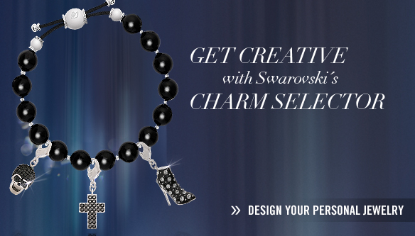 GET CREATIVE with Swarovski's CHARM SELECTOR