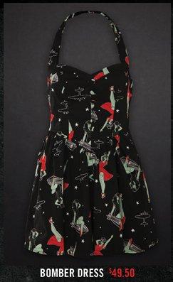 BOMBER DRESS $49.50