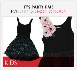 IT'S PARTY TIME - Girls Dresses
