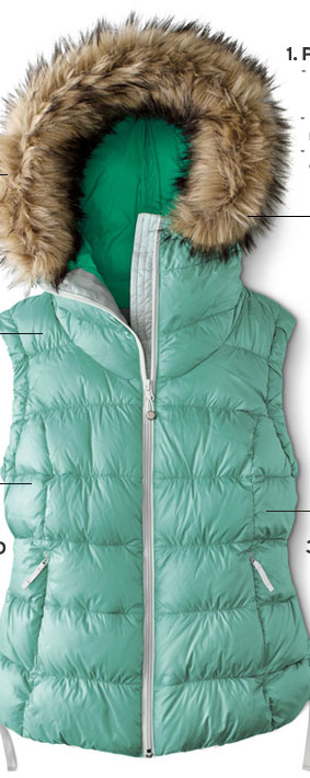 Northern Aurora Down Vest