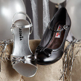 Holiday Shine: Kids' Shoes