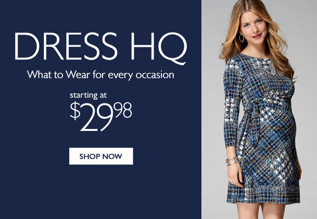 Dresses: Fall into Style