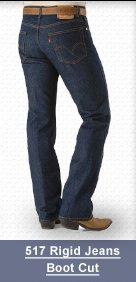 517 levis rigid jeans