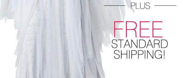 PLUS FREE STANDARD SHIPPING!