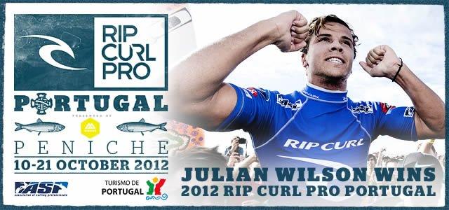Julian Wilson Wins 2012 Rip Cur Pro