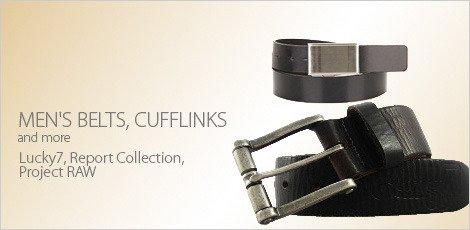 Men'S Belts, Cufflinks And More
