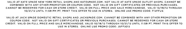 valid 10/19/12 through 10/21/12 until 11:59 pm pt. print this offer to use in stores. online use promo code: F12FFUS.