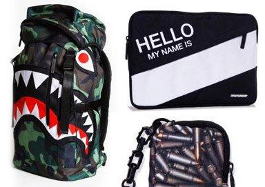 Shop Backpacks + Cases ft. Sprayground