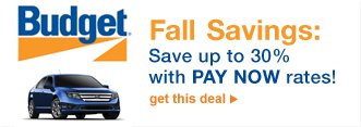 Fall Savings: Save up to 30% with PAY NOW rates! | get this deal