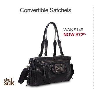 The Sak Pax Leather Satchel