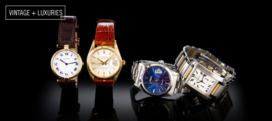 From the Reserve:Cartier & Rolex