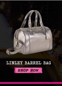 LINLEY BARREL BAG
