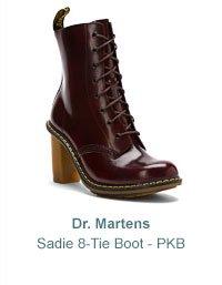 Women's Dr. Martens Sadie 8-Tie Boot - PKB
