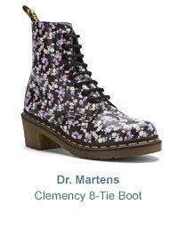 Women's Dr. Martens Clemency 8-Tie Boot