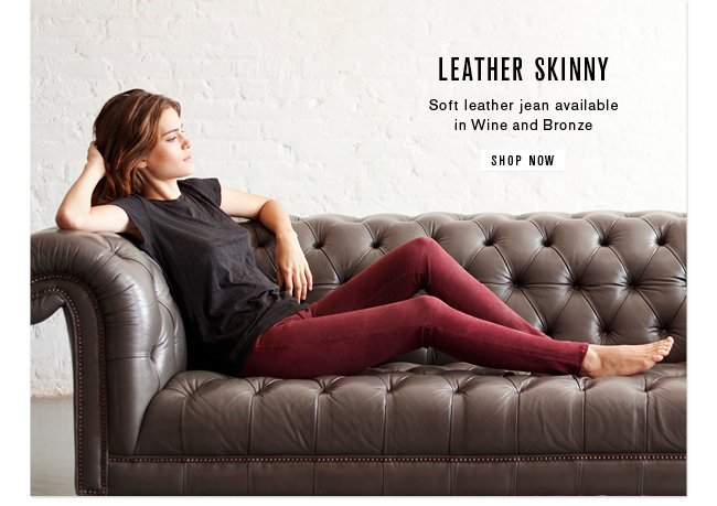 Leather Skinny