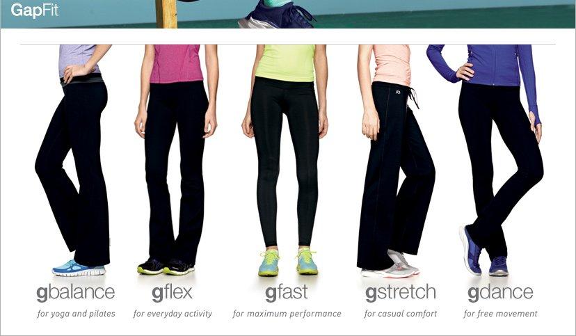gbalance - gflex - gfast - gstretch - gdance