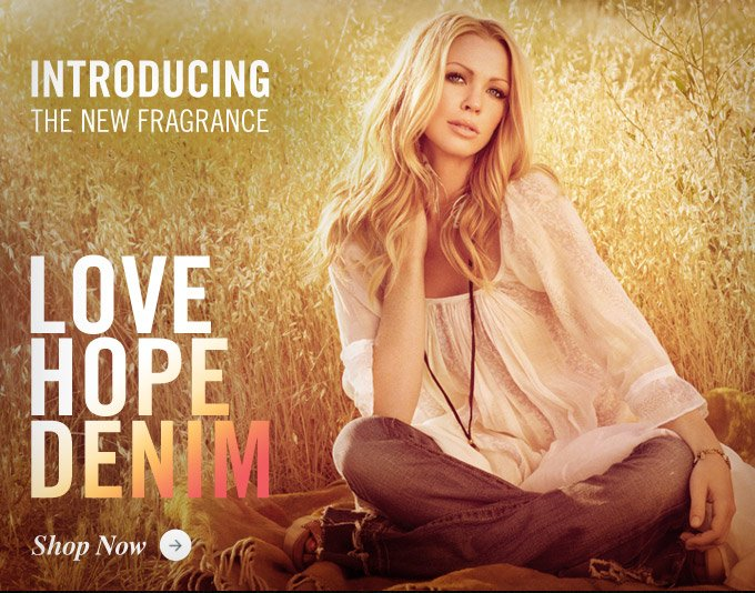 Love Hope Denim: The Exclusive New Fragrance By True Religion
