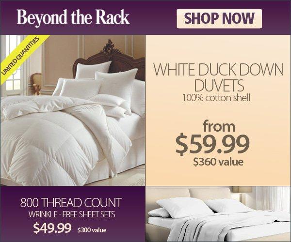 White Duck Down