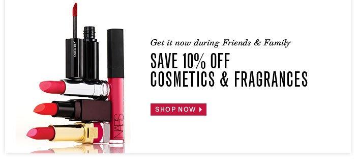 Shop Cosmetics & Fragrances