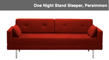 One Night Stand Sleeper, Persimmon Image