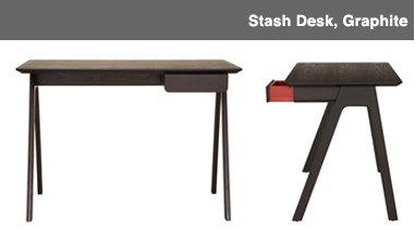 Stash Desk, Graphite Image