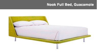 Nook Full Bed, Guacamole Image
